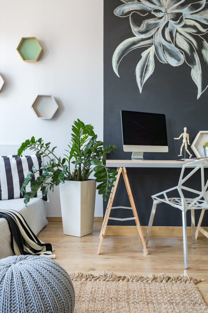 Place to work at home