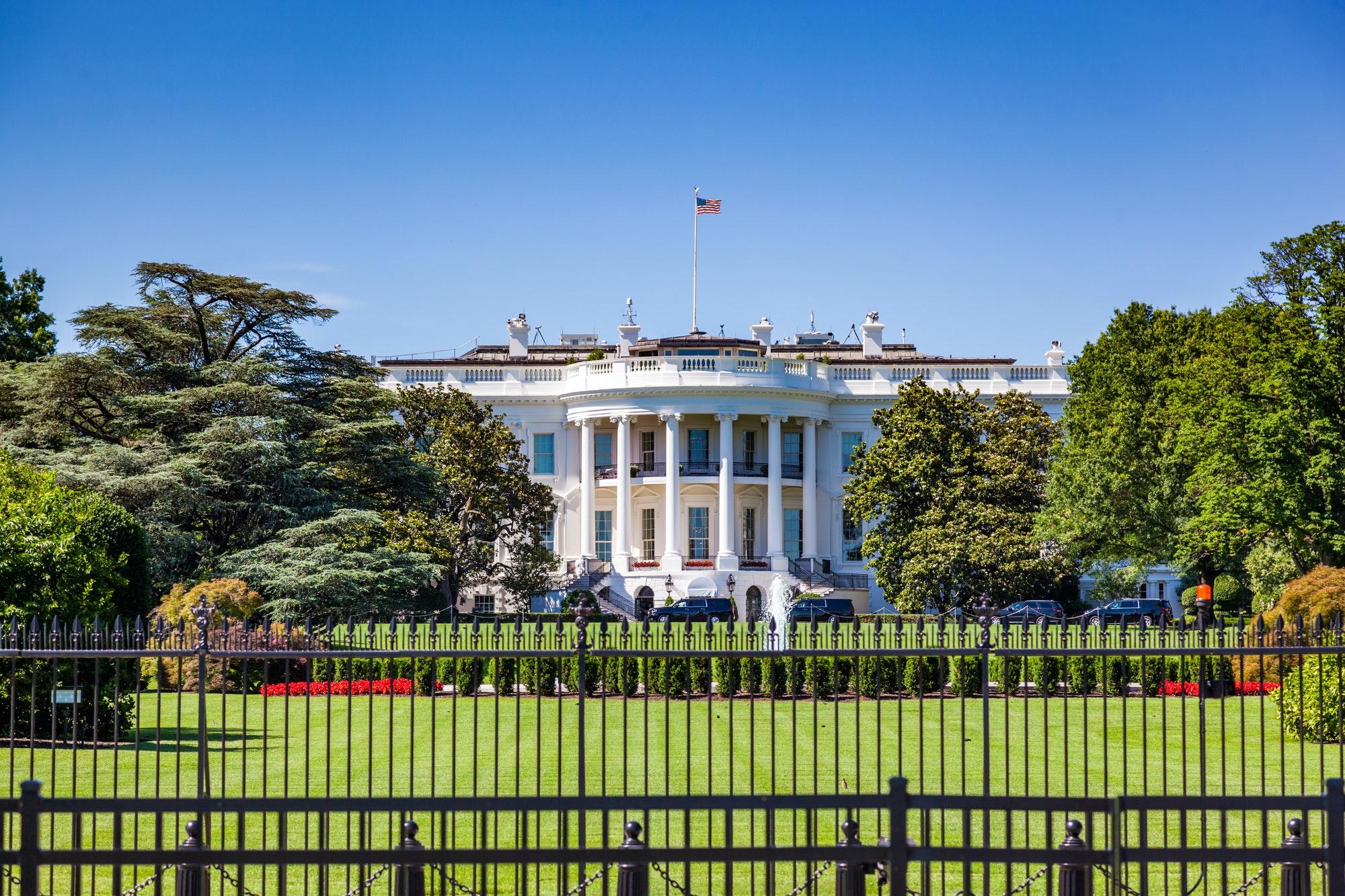 The White House, Washington DC, USA.