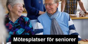 Mötesplatser för seniorer