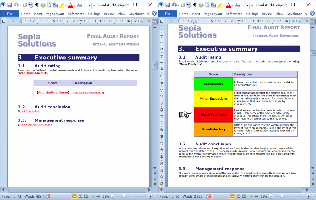 Pentana - Audit Report