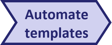 Pentana implementation approach - Automate templates