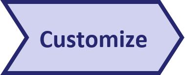 Pentana implementation approach - Customize