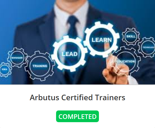 Alain Rousseau - Sepia Solutions completed this Certified Trainers track February 2020.