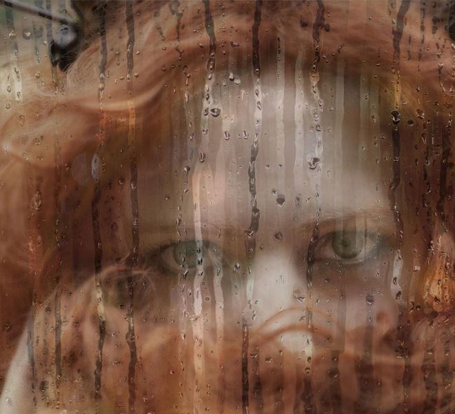 Raining-Glass-effect