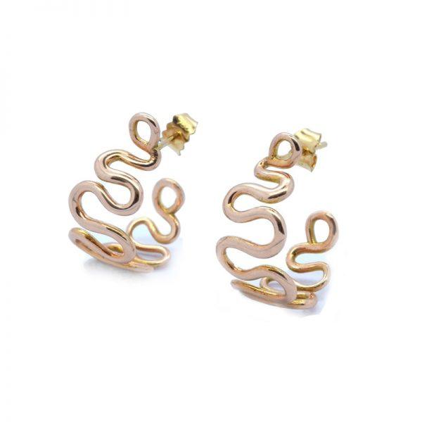 Jewellery by Serena Fox Wisp Hoop Earrings