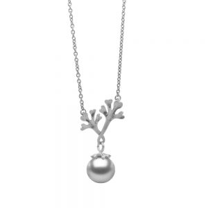 Serena Fox Chondrous Pendant Silver