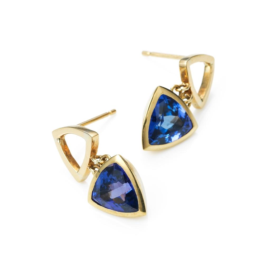 Serena Fox Mystic Tanzanite Earrings