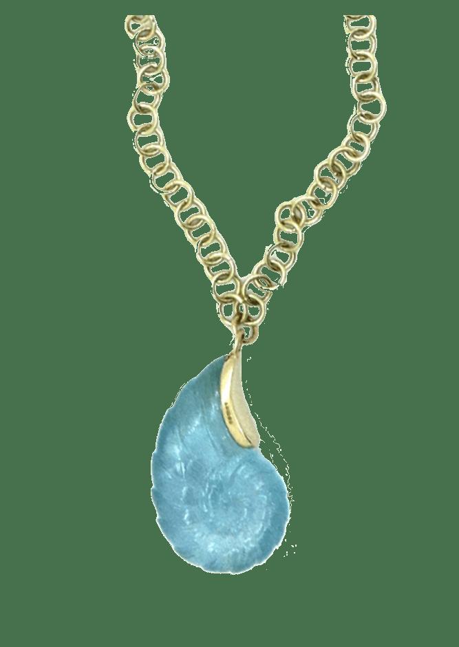 Serena Fox Ammonite pendant