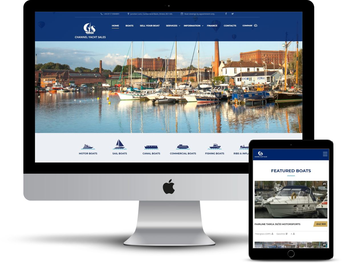 Channel-Yacht-Sales-Web-Designer-Keynsham