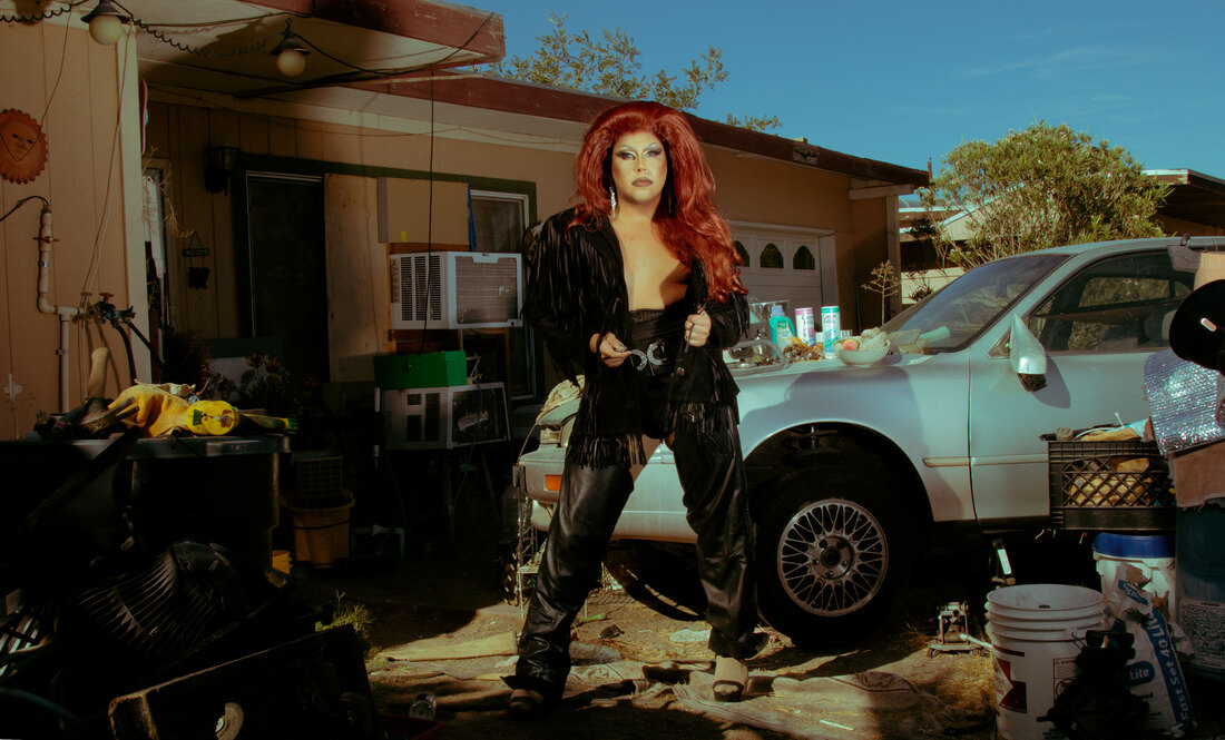 bryan clavel drag queen self portrait photography queer identity