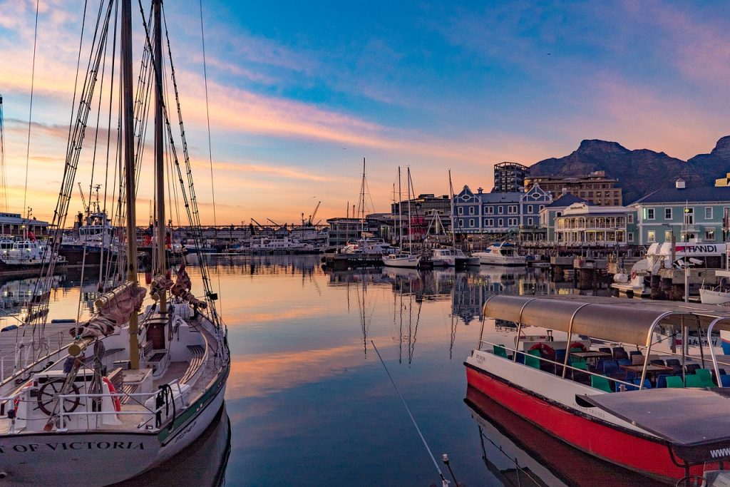 capetown, south africa, pier