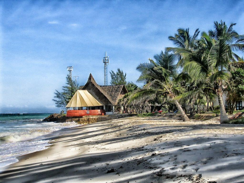 kenya, africa, beach