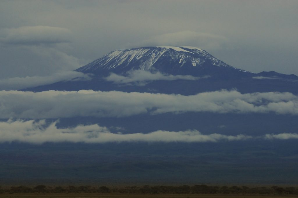 kilimanjaro, snow, africa