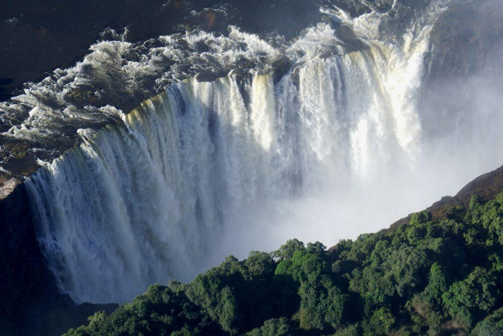 victoria falls, africa, zimbabwe