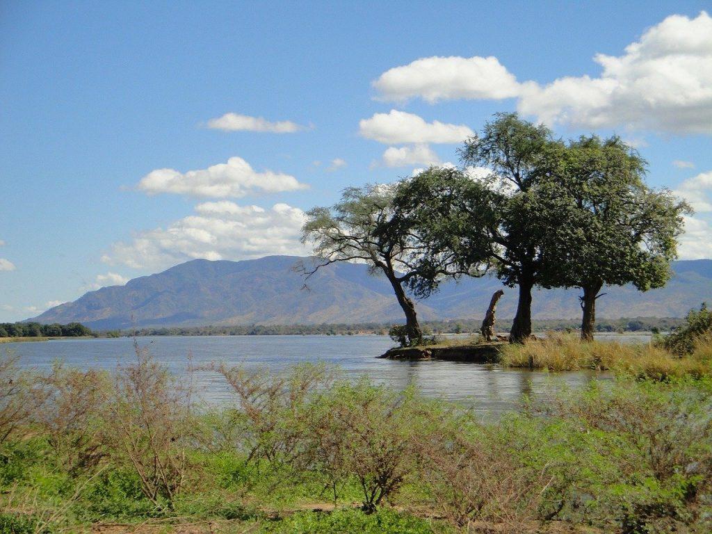 zambia, landscape, mountains