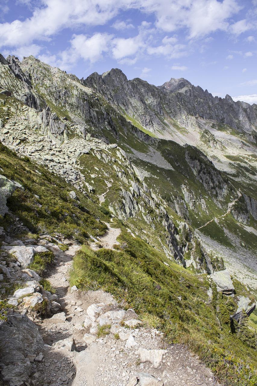 alps, mountainous, summit