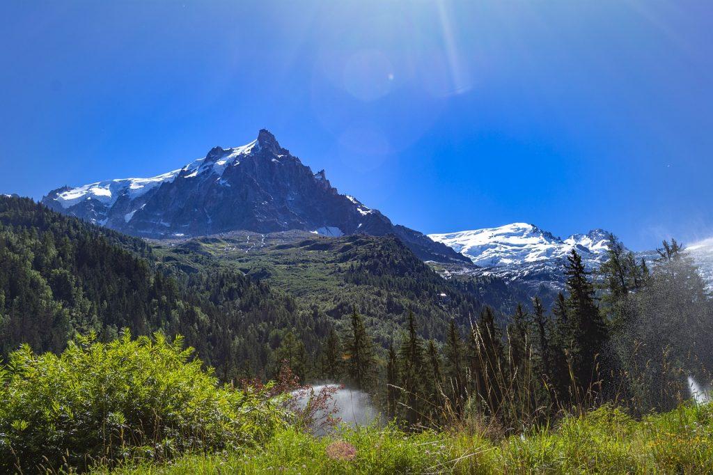 chamonix, mont blanc, snow