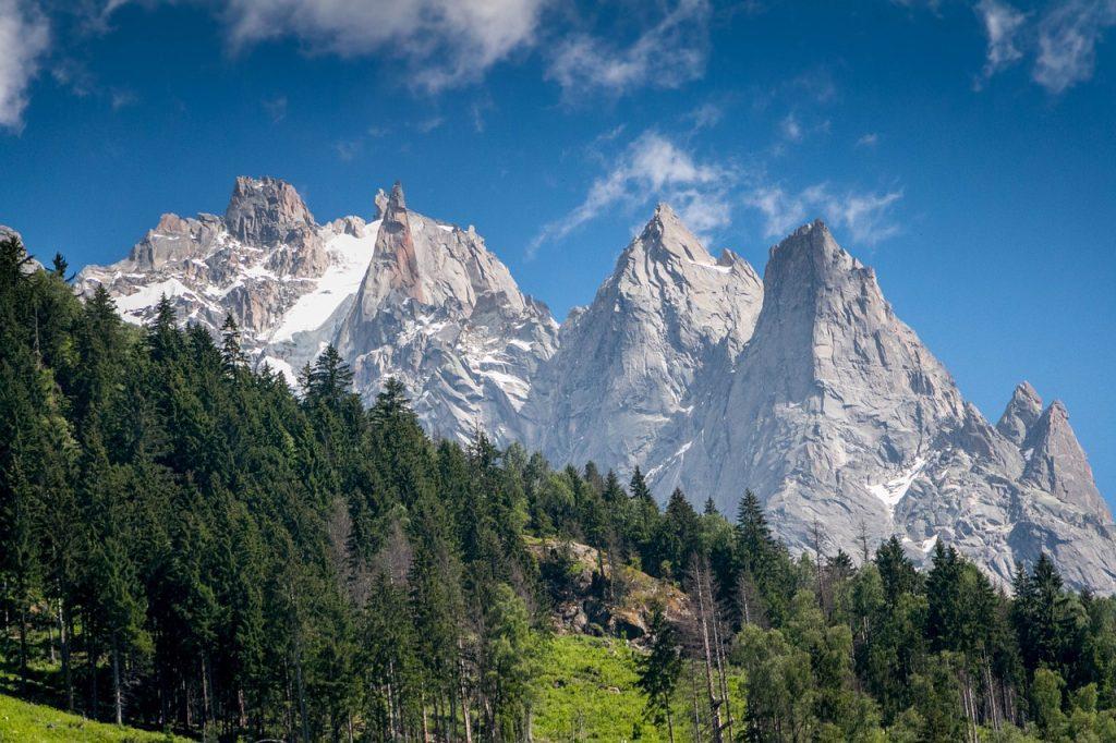 chamonix, mountain, park