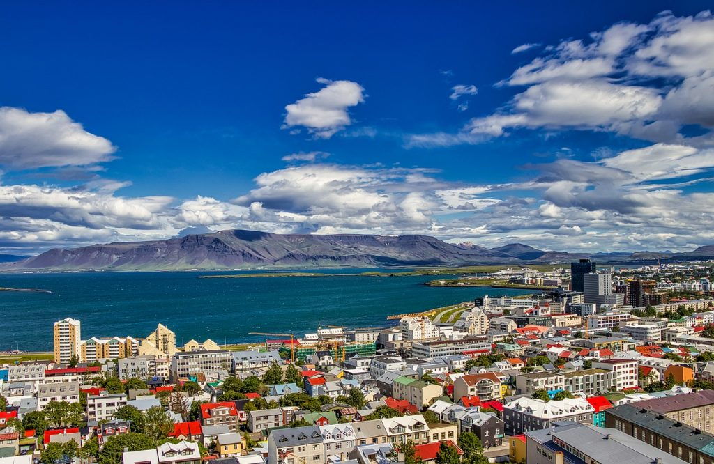 iceland, city, reykjavik