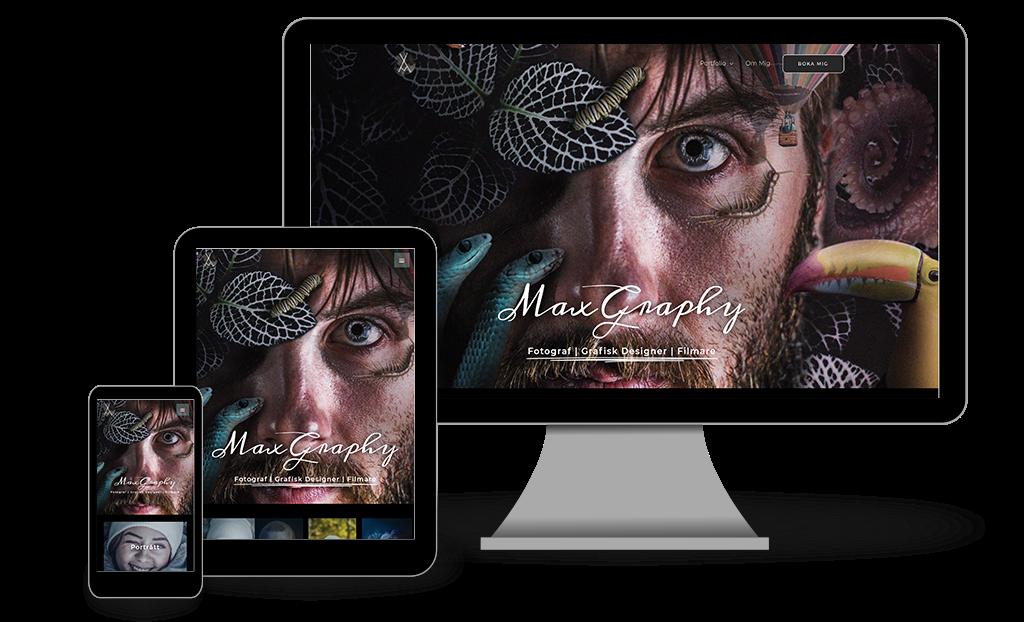 Responsive Web Maxgraphy