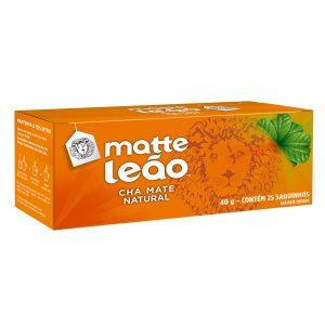 leao-cha-matte-natural-40g-com-25-saches