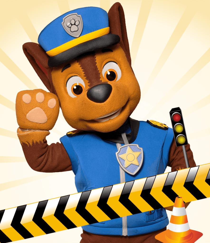 Paw Patrol trafik bane