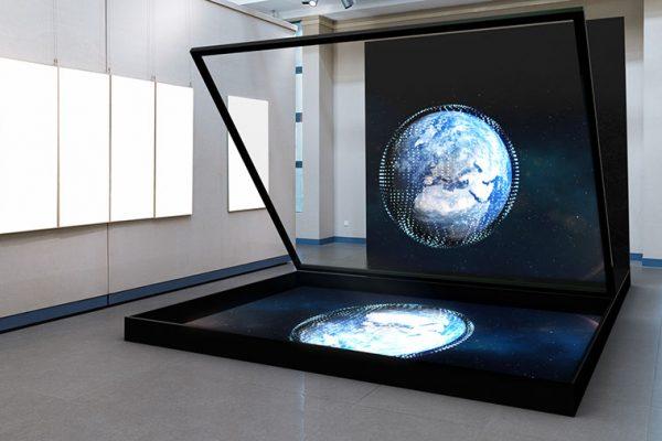 Hologramm Konferenz