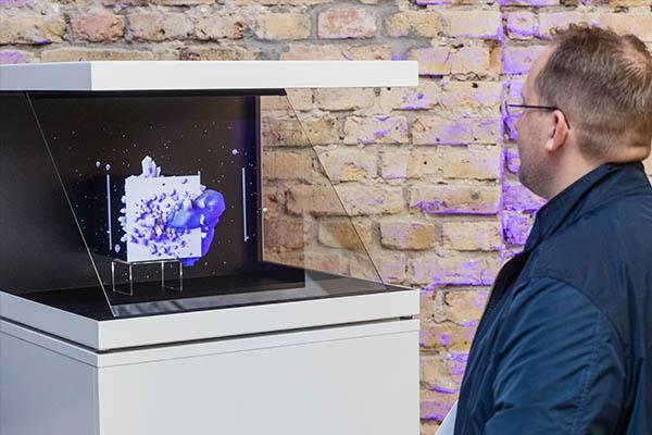 Hologramm Displays