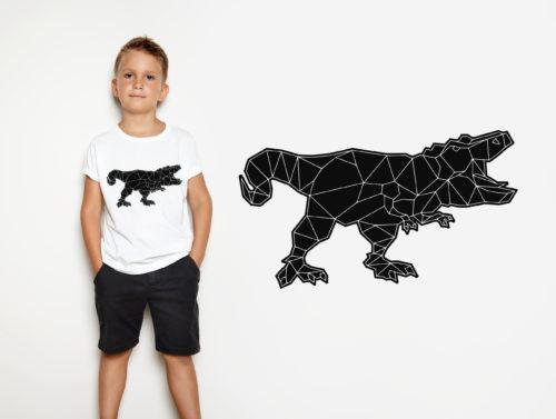 Polygon Dinosaurus by SILHOUETTE LOVE