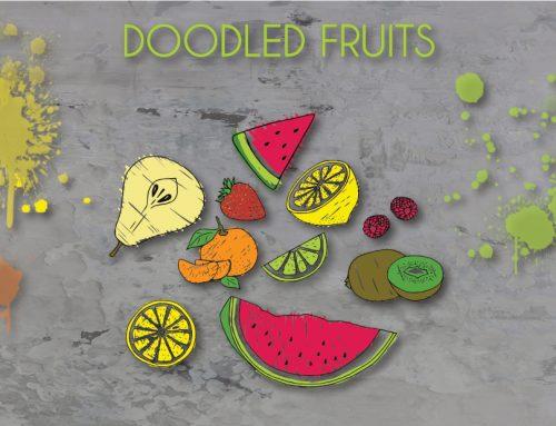 LOOKBOOK DOODLED FRUITS