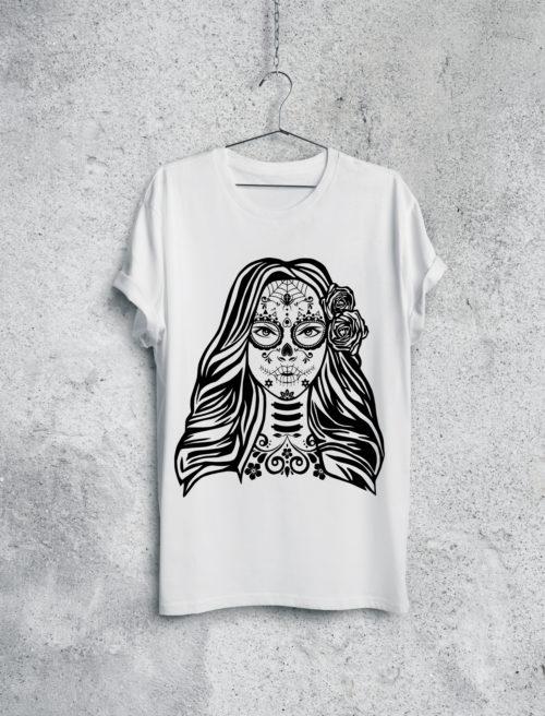 Mexican Skull Lday V1
