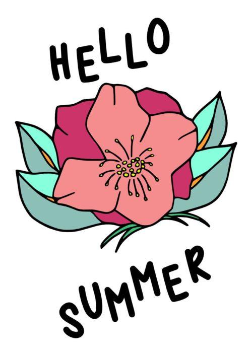 PLOTTERDATEI HELLO SUMMER