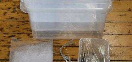 Kompostera inomhus - skapa din egen maskjordfabrik - Tillbehör maskjordfabrik