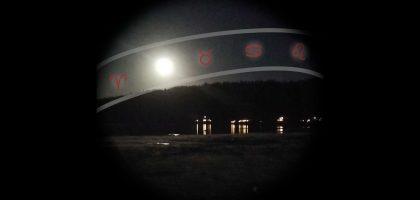 Måne med stjärntecken