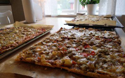 Snabb pizzadeg