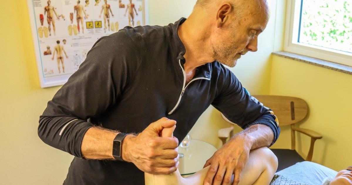 Kropsterapi - Stræk af lår og balle muskulaturen