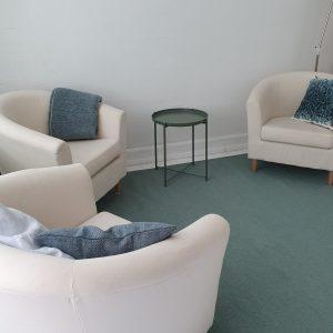 Terapilokale på Ahornsgade 18