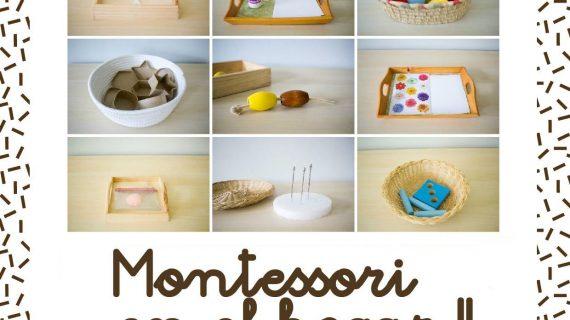 Taller Montessori en el hogar. Parte II