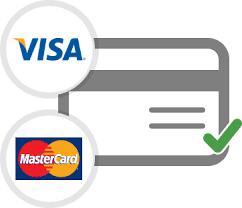 Sikker betaling med kort og PayPal