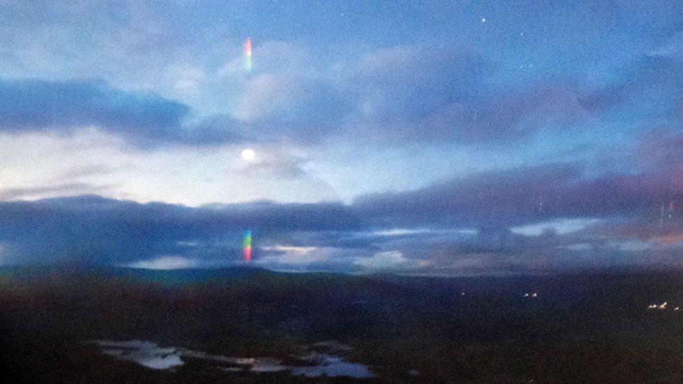 Fantastiske lysfenomener i Hessdalen
