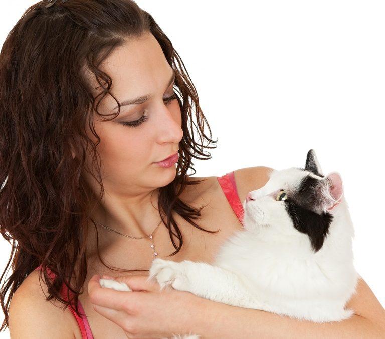Hvorfor kom katten til henne?
