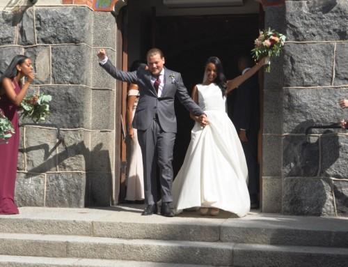 Bröllop i Nacka Kyrka