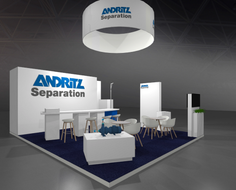Andritz @ Aquatech 2017 design