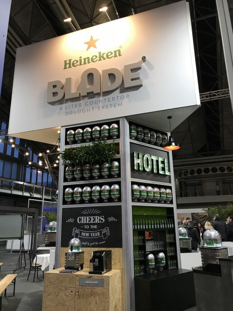 Heineken @ Horecava 2018 – lancering the Blade