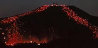 vulkan i Hammarbybacken