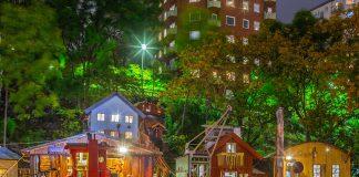 Anders Franzenslekpark i Hammarby Sjöstad 2020