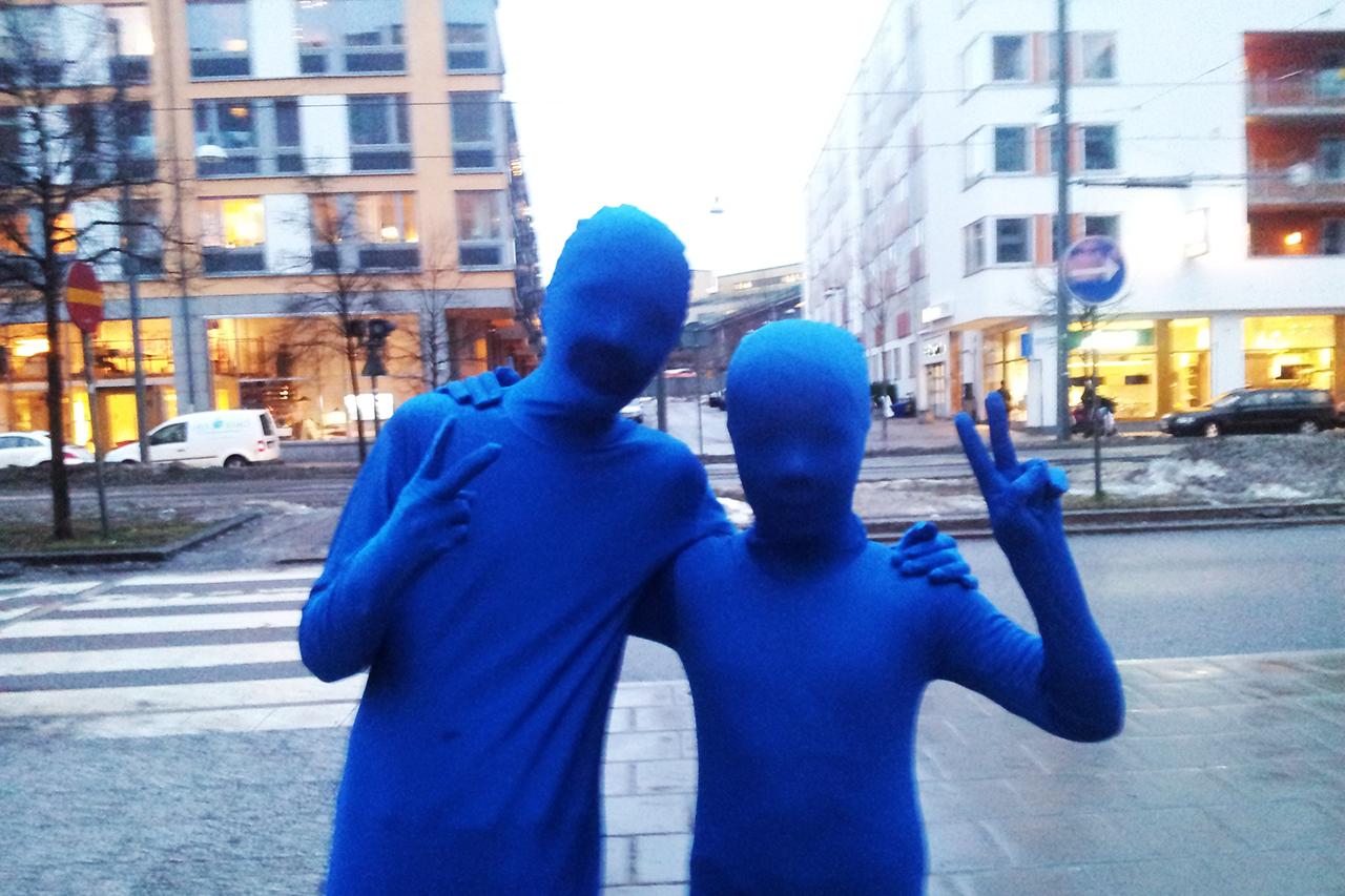 Boys in Blue visar upp sig i sjöstan