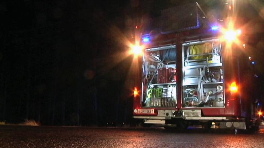 Brand i restaurang i Hammarby Sjöstad
