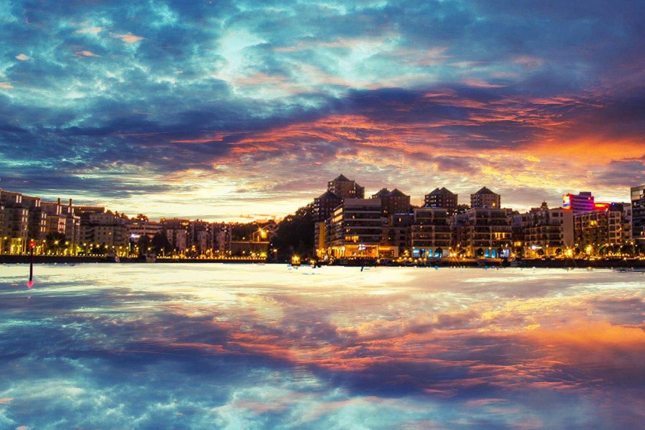 Hammarby sjö amazing picture