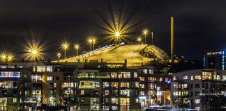 Hammarbybacken och dess belysning